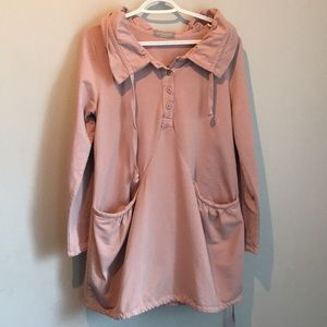 Pistache made in Italy Blush Size Large XL sweater
